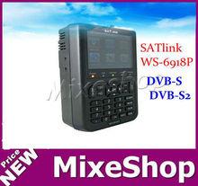 SATlink WS-6918P HIQ 8PSK DVB-S & DVB-S2 Digital Satellite TV Finder Meter