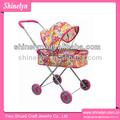2595 - 1 nueva hierro muñecas cochecitos de diseño para niños cochecito de bebé de la muñeca paseo profesional factor de diseño el mejor regalo de los cabritos