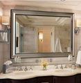 china 2014 proveedor espejo gran cuarto de baño espejo de la pared