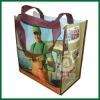 Metallic laminated fabric bags wholesale