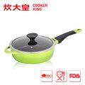 Cknh6526 die cast utensíliosdecozinha/deep fry pan