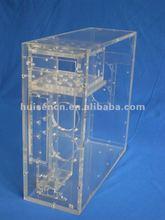 Transparent acrylic computer case