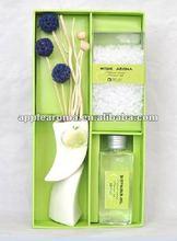 2012 Hot Sale New Perfume Fragrance Reed Diffuser & beads sachet & diffuser Oil & Ceramic bottle & Air Freshener