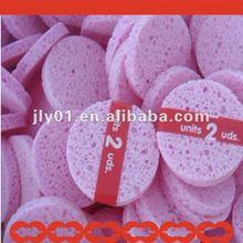 Natural cellulose sponge facial puff