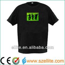 custom design organic EL tee shirt