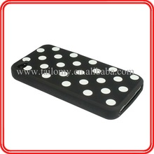 Silicon Mobile phone Case for Apple iphone 4 /4s ,Mobile phone accessories for apple