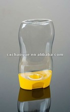300ml High quality plastic Honey container squeeze bottle with none drop cap