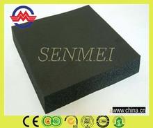 lightweight black rubber plastic sponge