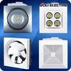Home Exhaust Fan Kitchen, Bathroom Ceiling Ventilation Fan