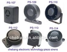 DC 12V mini small piezo buzzer ,PS-113,With CE &Rohs
