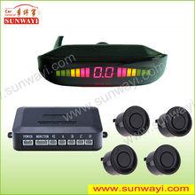 Car LED 4 Reverse Parking Sensors Car Reversing Aid vehicle detector sensor