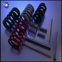 Custom compressed small precision metal spring