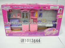 kids plastic antique dollhouse miniature furniture wholesale