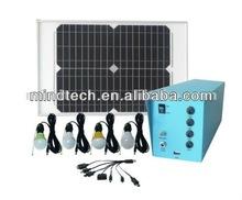 20 W 12000 mAh de gran alcance de energía solar linterna con salida USB de extremo a extremo de carga móvil