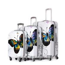 2014 Hot Sale 4 Wheel Travel Trolley Luggage/PC Trolley Case