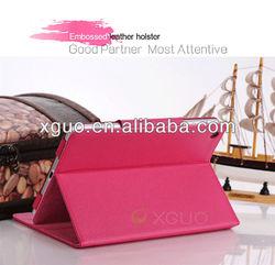 High quality Litchi PU leather for ipad mini slim case
