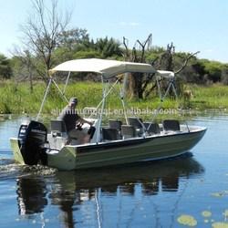 Aluminum swamp cruiser -530 River Runner