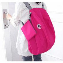 Korean multifunction foldable storage single shoulder bag&messenger bag