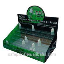 E - cigareet garrafa E clearmomizer bliter exibição kit contra ondulado indicação do contador de papelão