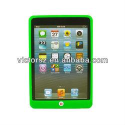 For iPad Mini silicon case, All Green Chocolate Laptop silicon case