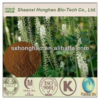 ISO&Kosher 2.5%-8% Triterpene Black Cohosh P.E Powder