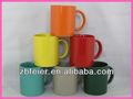 Esmaltado de color taza de café, de acciones baratas tazas/mugs/tarros