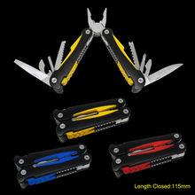 2013 new designed stylish aluminum handle 14 function multi tool