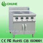 Commercial 4 burner electric stove range