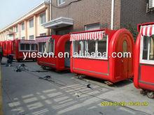 Best Design Food Stall Mobile Bar For Sale