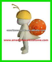 hot sell adult snail mascot costume