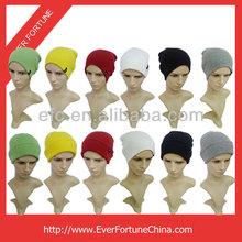 100% Acrylic Men Long Beanie Winter Hat Beanie Long