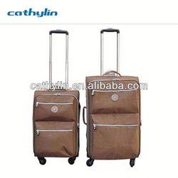 Trustworthy Brand Polyester Two Wheeels Luggage