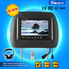 7'' Headrest Video Screen car pillow tft lcd monitor