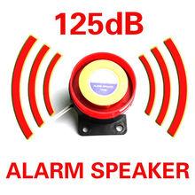 Motorcycle Alarm Siren 12V/24V