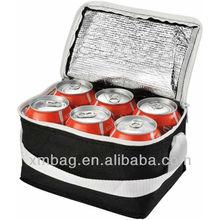6 cans beer cooler bag
