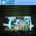 A todo color lámpara de exterior 12.5 mm led diseño de la cortina para la etapa