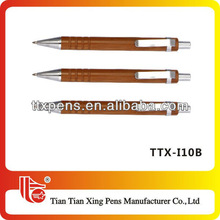 TTX-I10B Hot selling carved wood pen for promotion