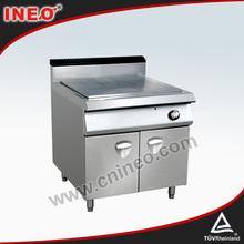 De gas equipos del hotel o equipos de cocina( francés caliente- placa de cocina)