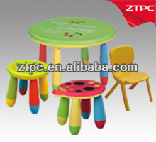 2013 New Style Beautiful Children Furniture Plastic Kids Table Stool Chair