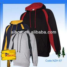 Knitted fleecy mens hoodies,crop hoodies,pullover hoodie