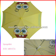 Cheapest and cute promotional gift umbrella with cartoon print
