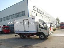 4tons foton van /delivery vans for sale/dry cago van body