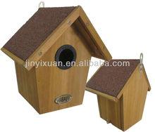 Waterproof Wooden Hanging Bird House / Bird Breeding Cage / Bird Feeder