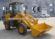 ZL10F wheel loader 4x4 transmission with snow bucket,pallet fork