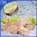 Tous les types de conserves de fruits de mer poissons gros taille thon en conserve dans l'huile de tournesol