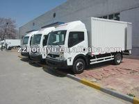4X4 20feet aluminum van truck/cargo van truck for dry cargo