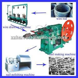 Steel nail making machine/nail making machine price