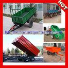 2014 hot sale 5 ton farm trailer for tractor