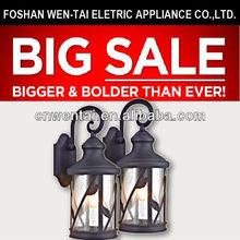 Medium size cheap outdoor wall lantern