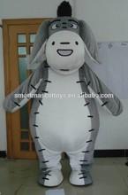 HOT plush eeyore costume eeyore mascot costume for adults